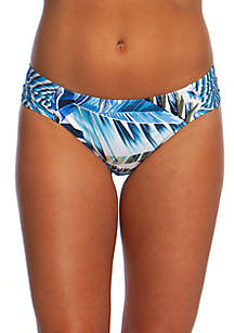 La Blanca Swim Two Cool Side Shirred Hipster Bottoms