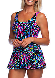 Maxine of Hollywood Sparkler Princess Swimsuit Dress