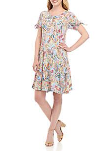 Kim Rogers® Paisley Shirt Dress