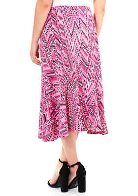 Womens Sz 16 Knee Length Skirt Kim Rogers Clothing, Shoes & Accessories