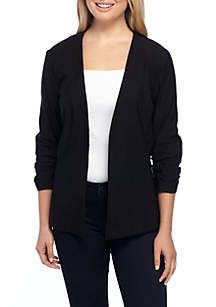Millennial Rouched Sleeve Jacket