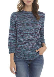 Space Dye Sweater