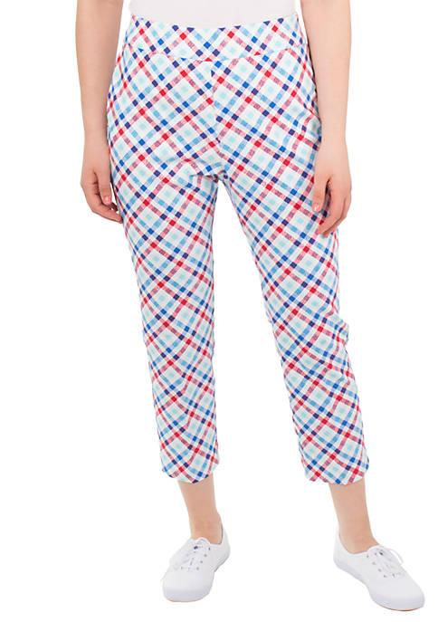 Petite Millenium Gingham Pants