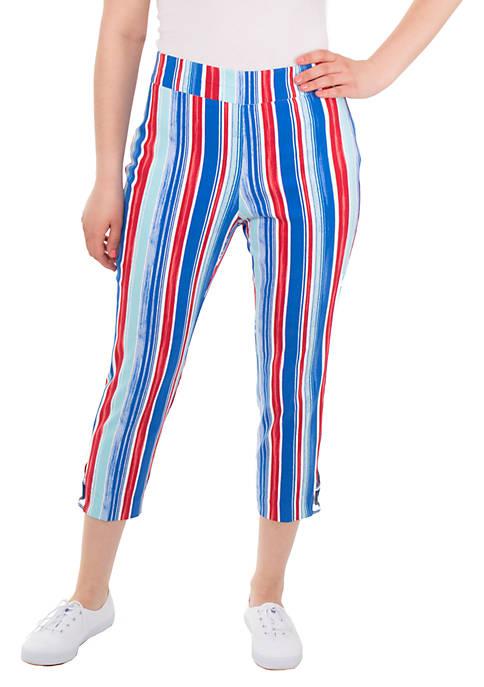 Petite Millenium Stripe Pants