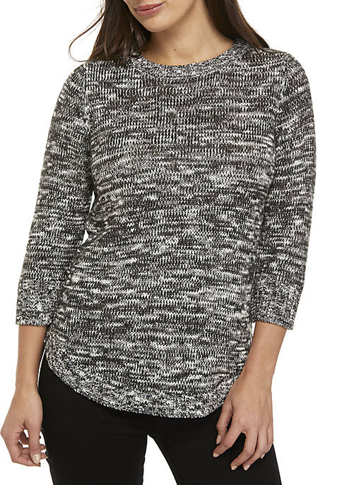 Petite Pullover Knit Sweater