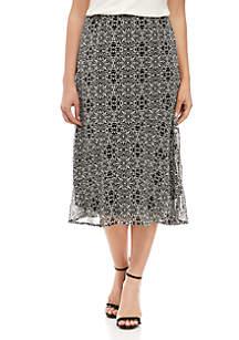 Kim Rogers® Petite Seamed Skirt