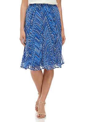 f3c2398893 Kim Rogers® Petite Godet Skirt ...