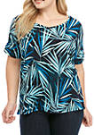 Plus Size High Low Top