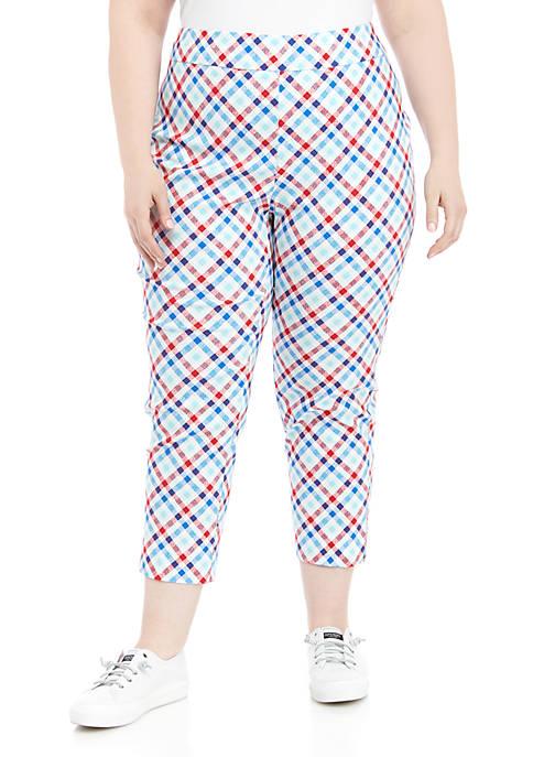 Plus Size Firework Millennium Alternate Length Pants