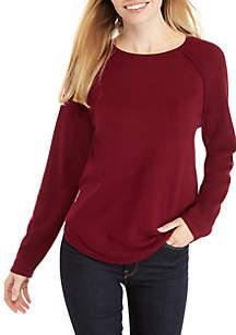 Petite Fine Gauge Crew Sweater
