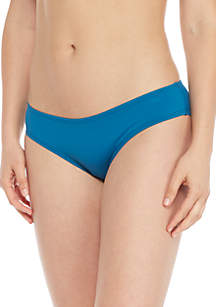 Shirred Smooth Fit Cheeky Swim Bottoms