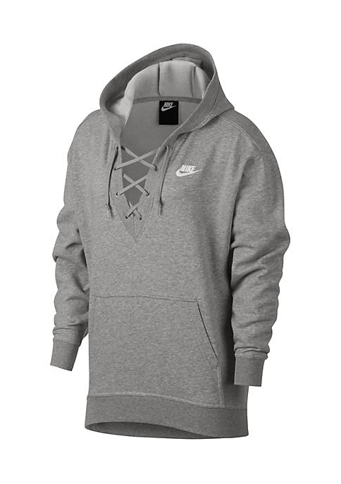 Nike® Lace-Up Hoodie