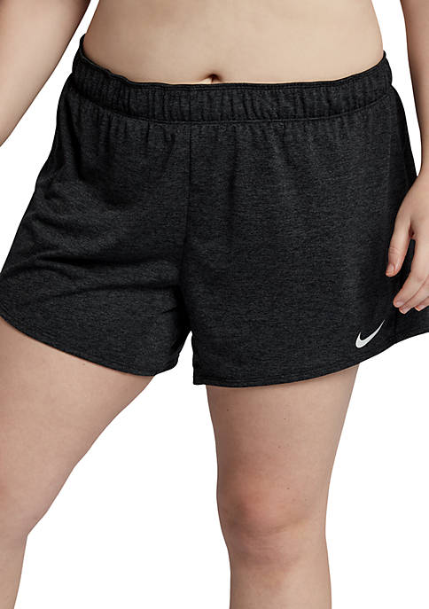 Plus Size Flex Training Shorts