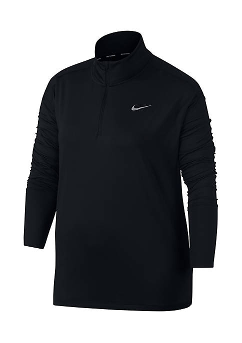 Nike® Plus Size Element Half-Zip Pullover