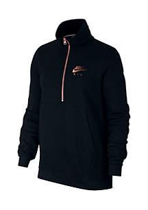 Air Top High Zip Fleece Pullover