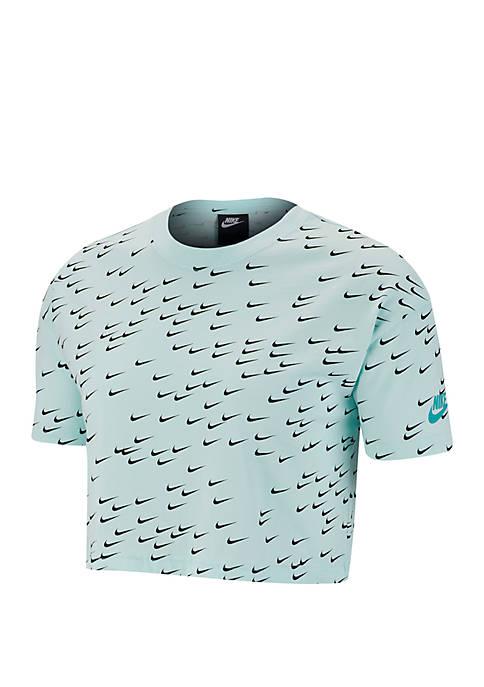 Nike® Sportswear Essential Short Sleeve Crop Top