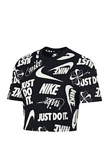 Nike® Essential Wild Cropped T Shirt