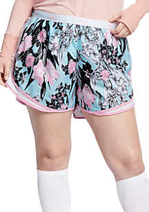 Nike® Plus Size Printed Tempo Shorts