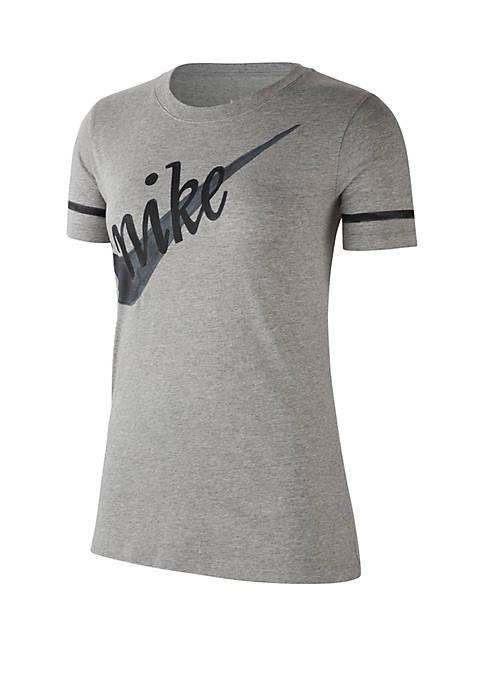 Painterly Short Sleeve T Shirt