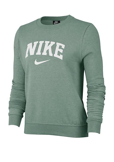 Nike® Logo Varsity Crew Top