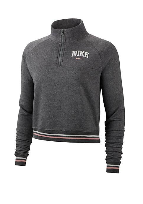 Sportswear 1/2 Zip Fleece Top