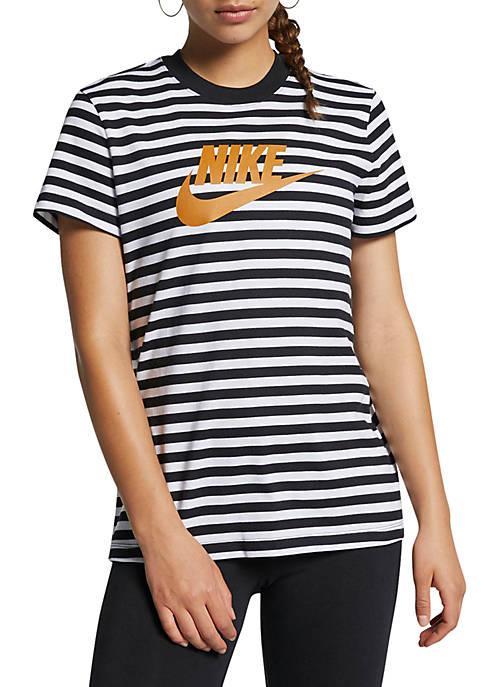 Nike® Sportswear Animal Print T Shirt