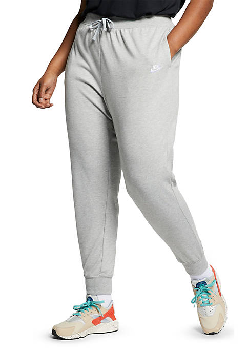 Nike® Plus Size Womens Jersey Sportswear Pant