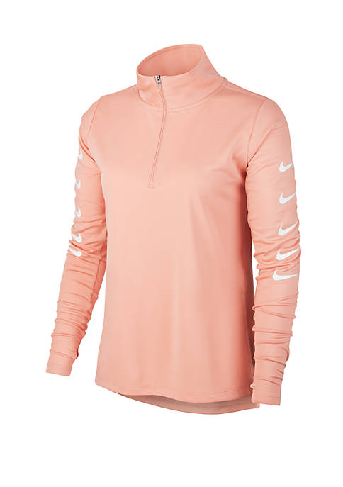 Long Sleeve Swoosh Top