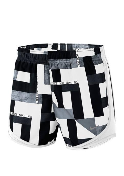Tempo Geometric Print Shorts