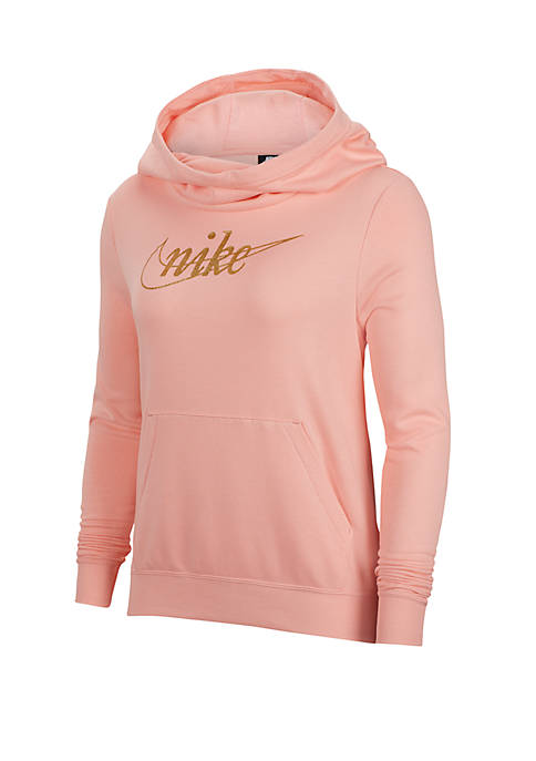 Sportswear Glitter Fleece Pullover