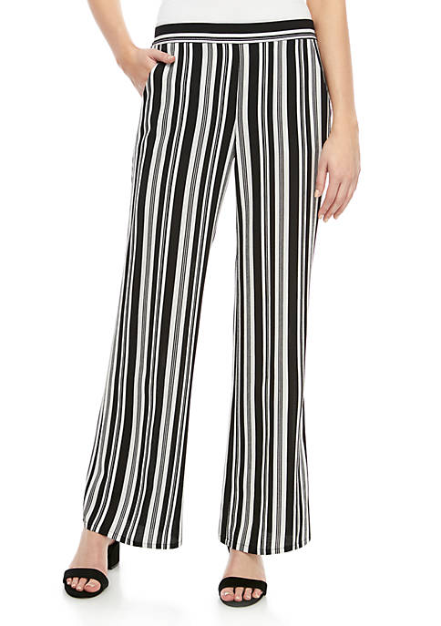 A. Byer Variegated Stripe Soft Pants