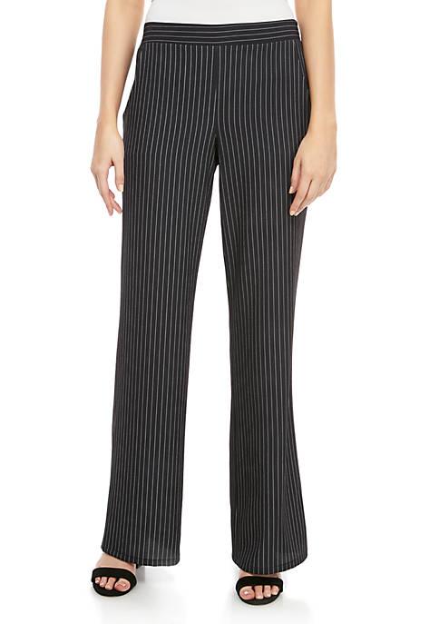 A. Byer Pinstripe Soft Pants
