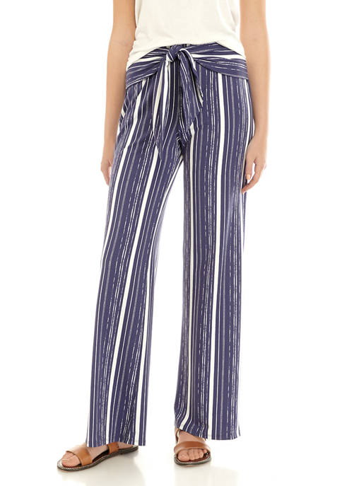 A. Byer Juniors Self Belt Pants