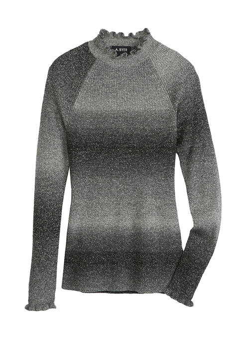 Juniors Ombré Sweater