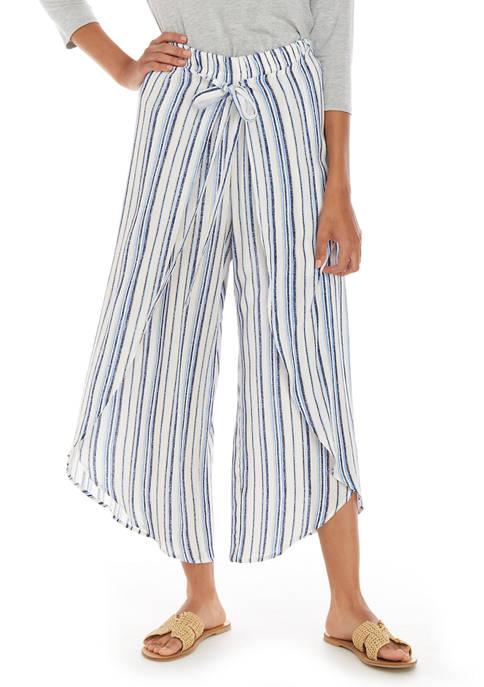 A. Byer Juniors Blue Stripe Pants