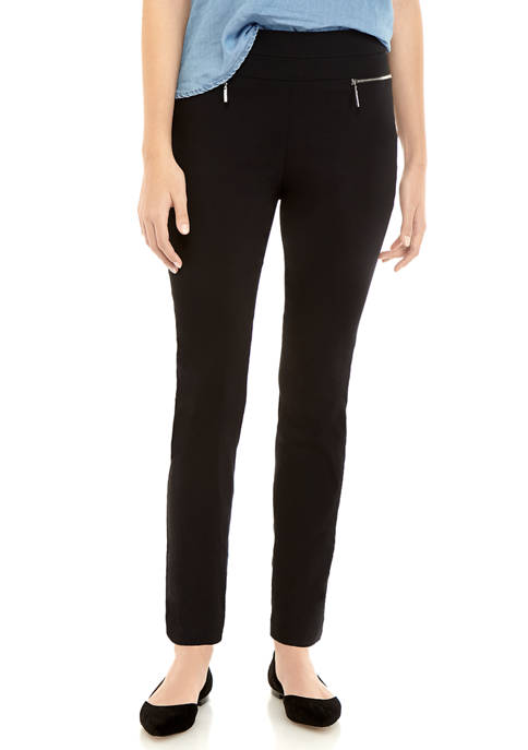 A. Byer Juniors Stretch Zip Skinny Pants