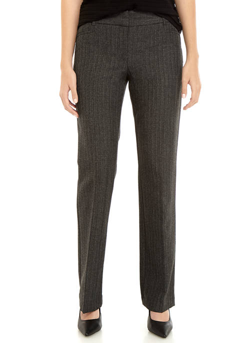 A. Byer Juniors Tweed Trouser Pants