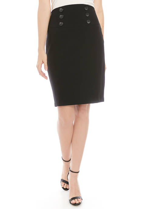 Juniors Pencil Skirt