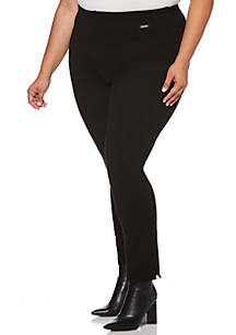 4d9bb9f04e6 ... Rafaella Plus Size Skinny Pants with Compression
