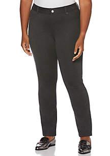 Plus Size Comfort Waist Skinny Ankle Pants