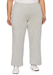 Plus Size Cozy Comfort Pull-On Pants