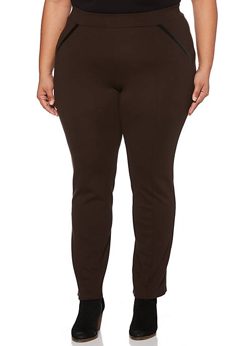 Rafaella Plus Size Ponte Pants