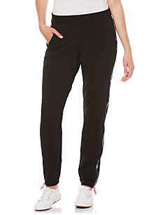 Petite Solid French Terry Pant