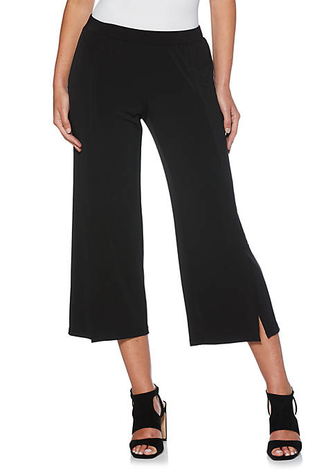 Rafaella Petite Solid Knit Pants