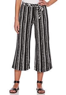 Rafaella Petite Stripe Crop Pants