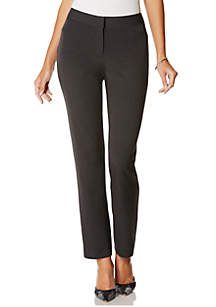Petite Size 2 Way Gab curvy Fit Pant