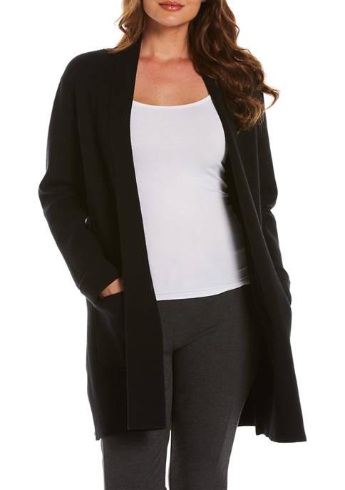 Petite Shawl Collar Milano Cardigan