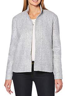 Petite Boucle Tweed Jacket