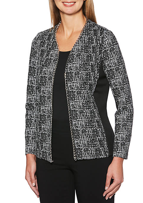 Rafaella Petite Jacket with Solid Pointe
