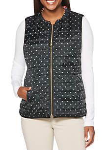Petite Reversible Puffer Vest